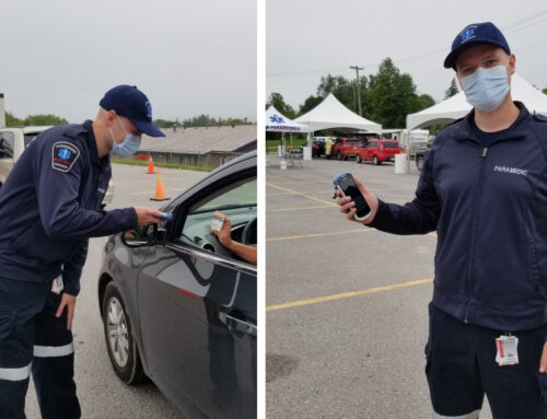 Peterborough's drive-through COVID-19 testing centre first in Ontario to use handheld devices for lab automation